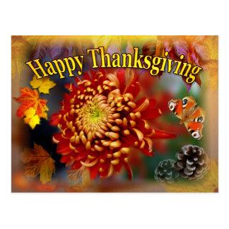 Carte postale de thanksgiving de ~ de beauté de