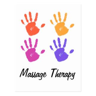 Carte postale de thérapie de massage