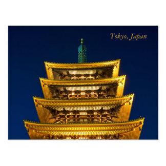 Carte postale de Tokyo