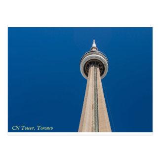 Carte postale de tour de NC, Toronto, Ontario,