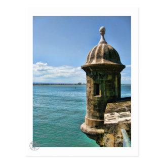 Carte postale de tour d'EL Morro
