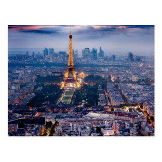 Carte postale de Tour Eiffel