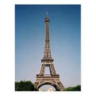 Carte postale de Tour Eiffel de Paris France