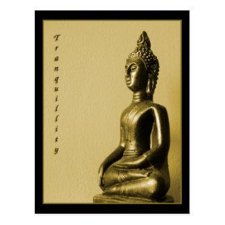 Carte postale de tranquilité de Bouddha