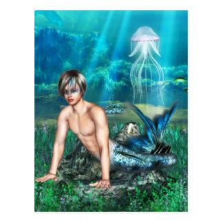 Carte postale de triton
