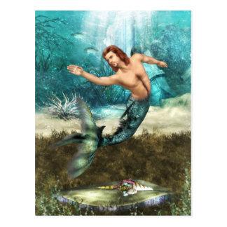 Carte postale de tritons