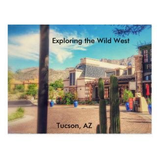 Carte postale de Tucson, Arizona