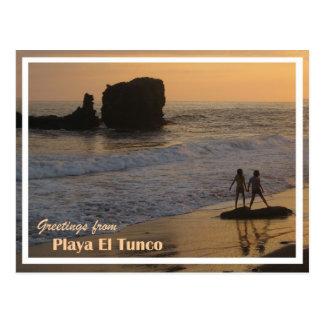 Carte postale de Tunco - 2 filles