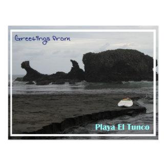 Carte postale de Tunco - beauté noire
