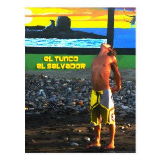 Carte postale de Tunco - bout droit
