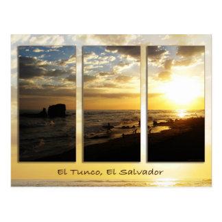 Carte postale de Tunco - roche sur l'or
