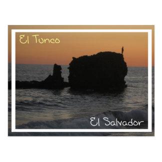 Carte postale de Tunco - une