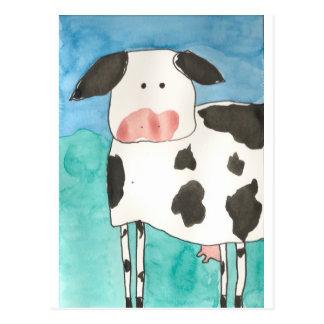 Carte postale de vache
