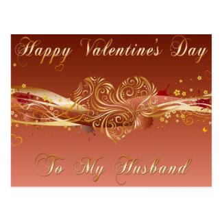 Carte postale de Valentine de mari