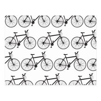 Carte postale de vélo de montagne
