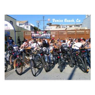 Carte postale de vélo de plage de Venise !
