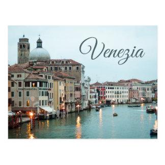 Carte postale de Venezia - photographie de voyage