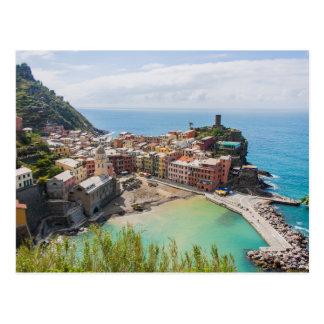 Carte postale de Vernazza, Cinque Terre, Italie