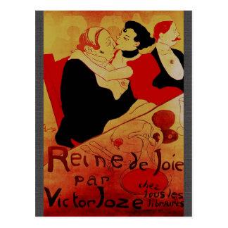 Carte postale de Victor Joze de pair de Reine de J