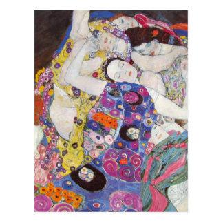 Carte postale de vierges de Gustav Klimt