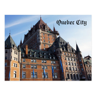 Carte postale de ville de Québec