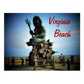 Carte postale de Virginia Beach