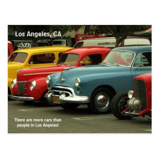 Carte postale de voiture de Los Angeles !