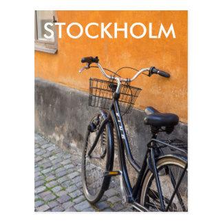 Carte postale de voyage - bicyclette de Gamla