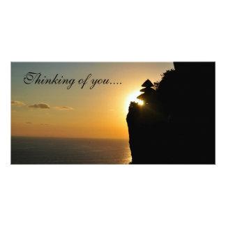 Carte postale de voyage cartes de vœux avec photo