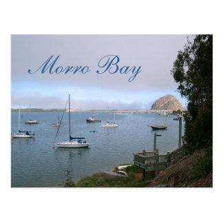 Carte postale de voyage de baie de Morro