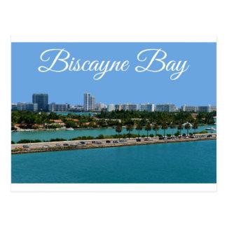 Carte postale de voyage de Miami Beach la Floride