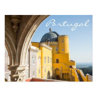 Carte postale de voyage du Portugal - Palacio DA