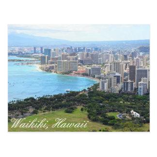 Carte postale de Waikiki