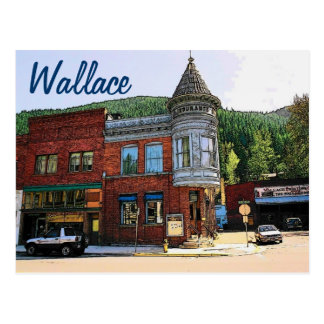 Carte postale de Wallace (identification)