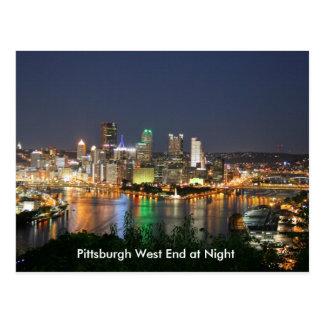 Carte postale de West End de la Pennsylvanie