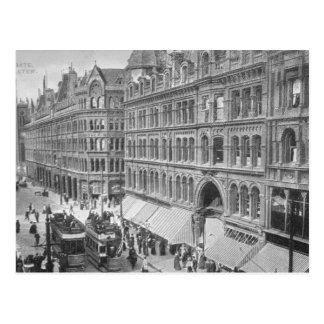 Carte Postale Deansgate, Manchester, c.1910