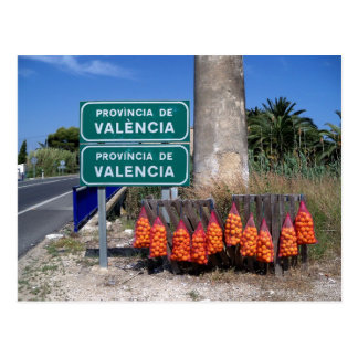 Carte Postale Début de région de Valence