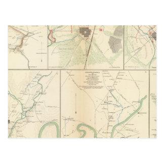 Carte Postale Decherd, Manchester, Tullahoma, jaspe