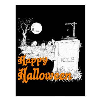 Carte Postale DÉCHIRURE de Halloween