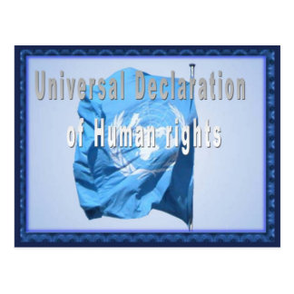 Carte Postale Déclaration universelle des droits de l'homme
