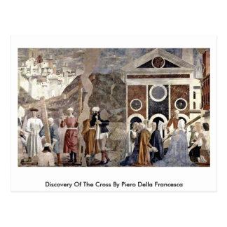 Carte Postale Découverte de la croix par Piero della Francesca
