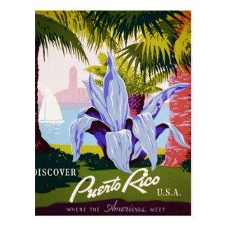 Carte Postale Découvrez Porto Rico