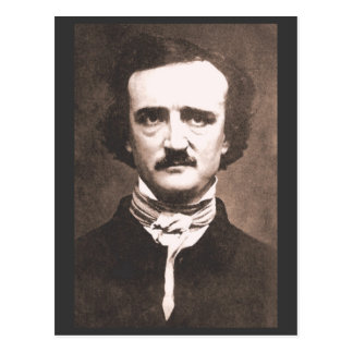 Carte postale d'Edgar Alan Poe