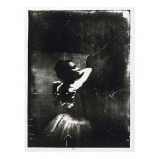 Carte postale d'Edgar Degas avec le danseur