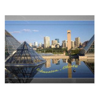carte postale d'Edmonton
