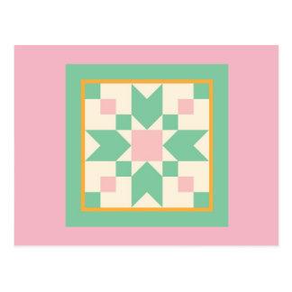 Carte postale d'édredon - pierres de progression