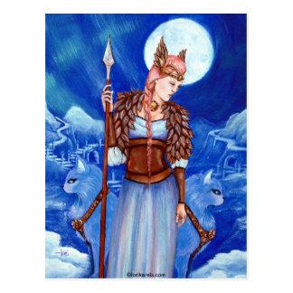 Carte Postale Déesse des norses de Freya