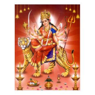 Carte Postale Déesse Durga (déesse indoue)