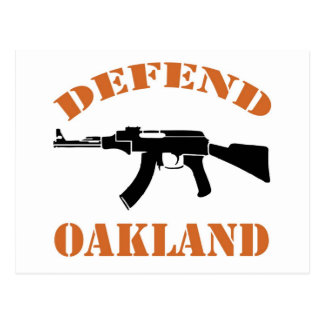 Carte Postale Défendez Oakland