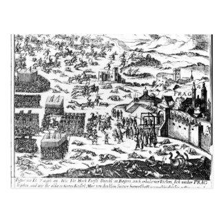 Carte Postale Défenestration de Prague, 1618